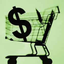 Valores do carrinho de compras