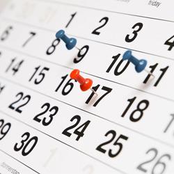 Opções personalizadas de data e hora